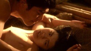 南野陽子が主演映画「寒椿」で乳首晒した濃厚セックス全裸ヌード濡れ場