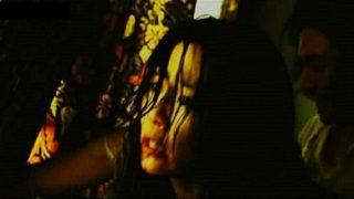 木村佳乃(女優)映画「スキヤキ・ウエスタン – ジャンゴ」夫を殺され息子の前で犯される人妻!自ら男の上に跨り騎乗位ファック