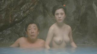 佳那晃子(女優)映画「陽暉楼」おっぱいを晒しジジイたちにマンコをまさぐられる映像