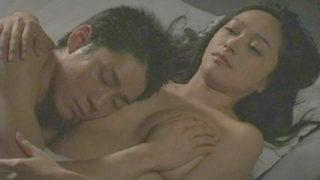 喜多嶋舞(女優)映画「月下美人~追憶~」義理の息子に「ずっと好きだった」と告白されヤらせる淫乱爆乳義母