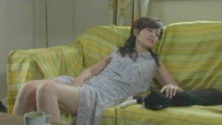濱田のり子 映画【猫の家族】クリーニングの兄ちゃんに抱かれる妄想しながらオナるドスケベ女!